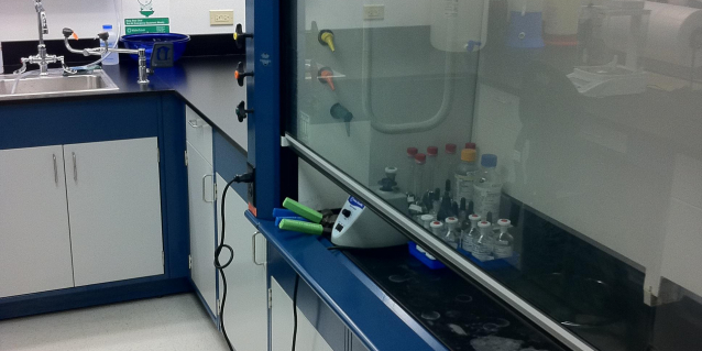 Narcotics Enforcement Division's Lab