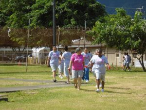 WCCC participants walking