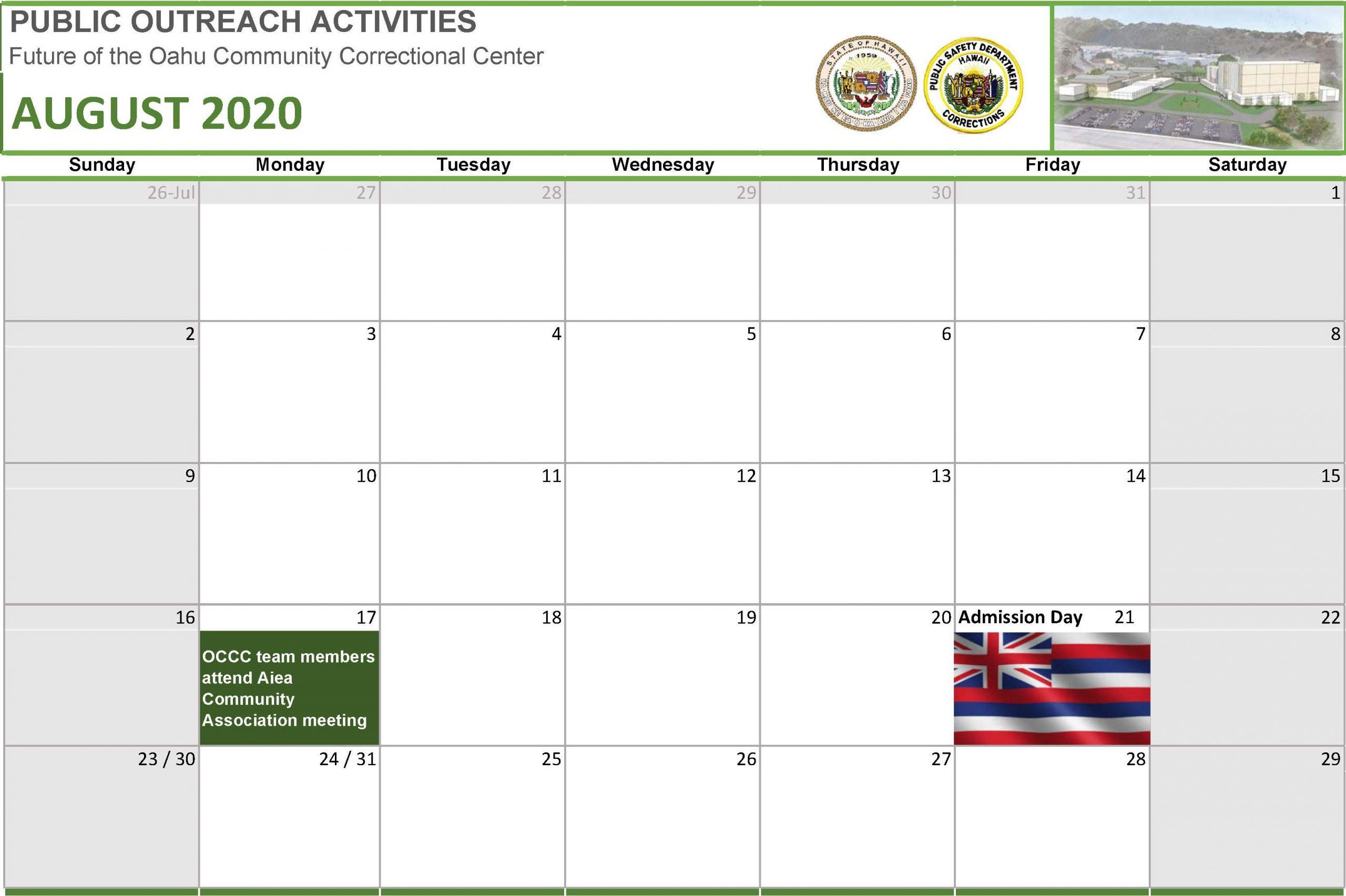 Occc Calendar 2021 Pictures